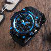 SKMEI Men Sport Digital Watch with Chronograph Double Time Alarm Light - ICEBERG