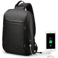 1324c90ce2 4% OFF Kingsons Crossbody Bags for Men Messenger Chest Casual Anti-Theft  USB Charging