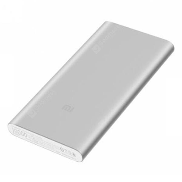 Xiaomi PLM09ZM 10000mAh Power Bank 2 Silver