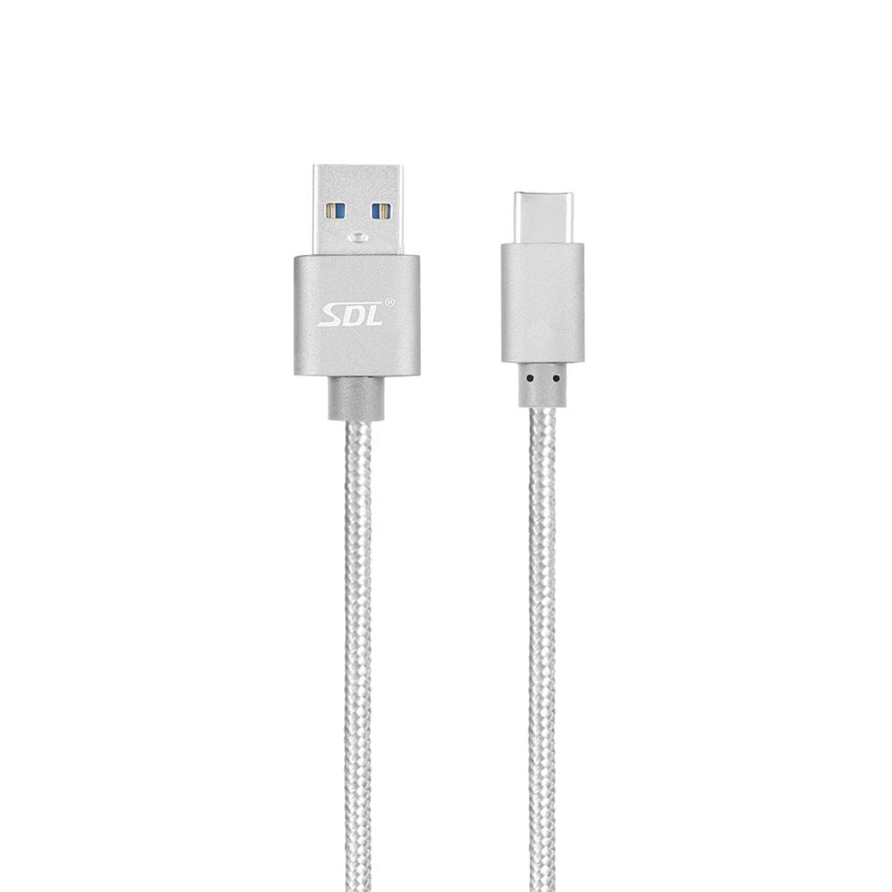 SDL Type-C Data Quick Charging Cable - Gray