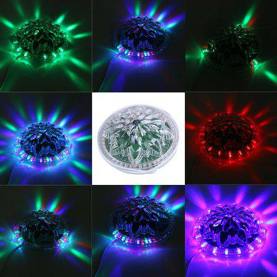 LED-ul de control al vocii LED cu bec RGB Small Flying Saucer Lamp