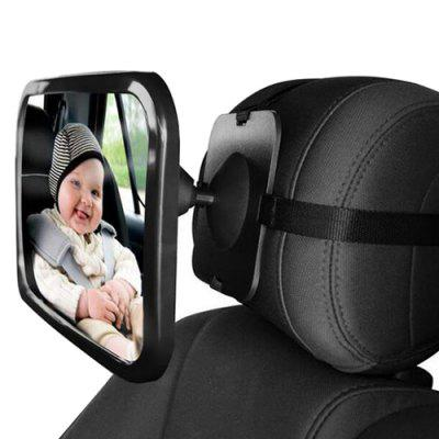 Adjustable Baby Car Mirror Back Seat Rearview Facing Headrest Mount Child Kids Safety Monitor Accessories