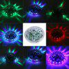 LED-ul de control al vocii LED cu bec RGB Small Flying Saucer Lamp - ALB