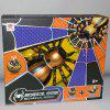 FK502A 4-way Infrared Remote Control Mechanical Spider - ORANGE GOLD