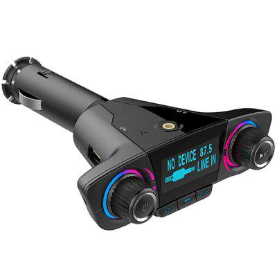 Double-headed Knob Bluetooth MP3 Car Charger