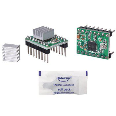 High Quality Imported Chips Stepper Driver Model + Heat Sink