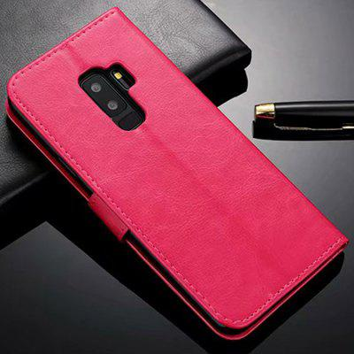 ASLING Bracket Wallet Credit Card Slot Phone Case for Samsung Galaxy S9 Plus