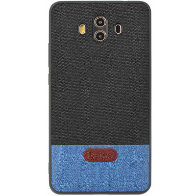 iBaiwei High Quality PU Fabric Stitching and Skinning Anti-fall Mobile Phone Case for HUAWEI Mate 10