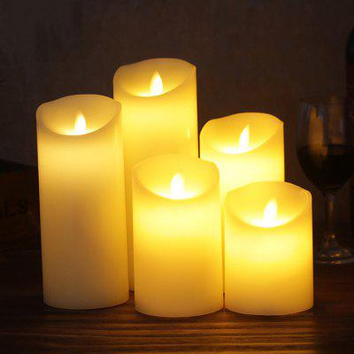 10-key Remote Control Swing Electronic Candle Light