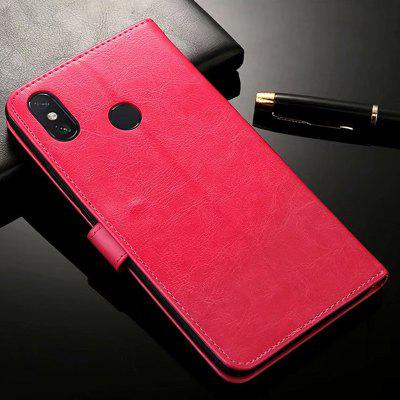 ASLING Mobile Phone Protective Case with Stand Wallet Credit Card Slot for Xiaomi Max 3