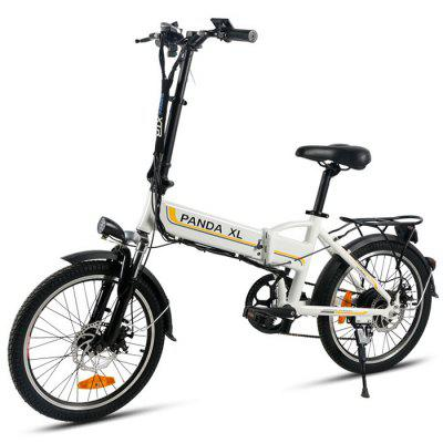 LOTDM200 Electric Bicycle Folding Smart Bicycle 7.8Ah Battery Image