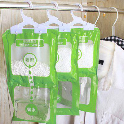 Hangable Mildewproof Moisture-proof Dehumidification Bag Hygroscopic Pack for Wardrobe 1pc