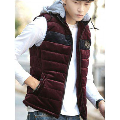 702 - 612B European American Men Fashion Warm Sleeveless Cotton Waistcoat