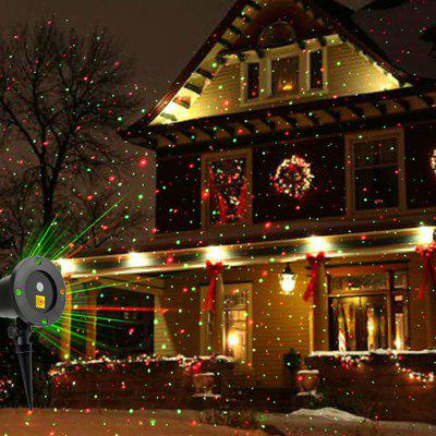 Outdoor Moving Full Sky Star Christmas Projector Lamp LED Stage Light Landscape Lawn Garden Decoration