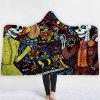 3D Digital Printing Thick Double-layer Plush Blanket - MULTI