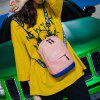 7805 Women's Korean Chic Multipurpose Mini Backpack - ORANGE PINK