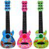 890 - B9 Six - string Anime Guitar Musical Instrument Early Education Educational Toys - BLUEBERRY BLUE