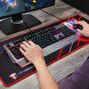 MOTOSPEED CK99 RGB Mechanical Keyboard All Key Anti-ghost 12 Lighting Effects Cherry Red Switch - BATTLESHIP GRAY