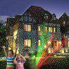 Outdoor Moving Full Sky Star Christmas Projector Lamp LED Stage Light Landscape Lawn Garden Decoration - BLACK