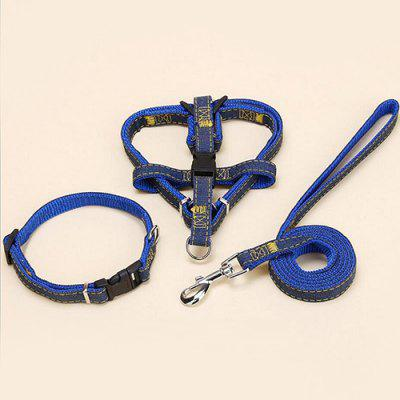 SQ88163 Denim Sewing Pet Chest Back Traction Rope