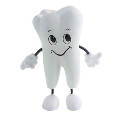 PU Tooth Doll Cute Smile Squishy Toy