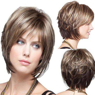 SYWT 216  Ladies Fashion Realistic High Temperature Wire Wig