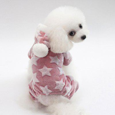 Simple Four-legged Dog Fleece