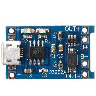 TP4056 5V 1A Micro USB 18650 Lithium Battery Charging Board