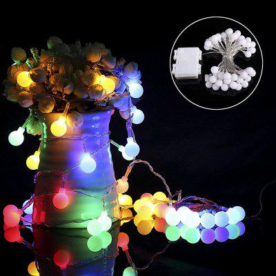 Kwb Led Christmas String Light 2M 20 Balls Warm White / Rgb Outdoor with Battery Box