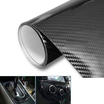 Car 152 x 30cm Black 5D Carbon Fiber DIY Sticker