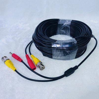 50 Meters Power Video Extension Cable