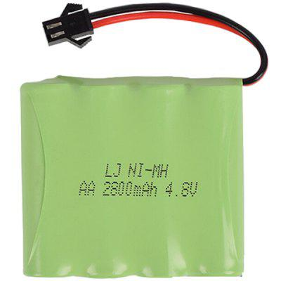 4.8V 2800mAh M Type NiMH AA Rechargeable Battery for Remote Control Electric Toy