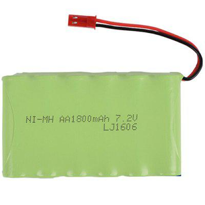 7.2V 1800mAh M Type NiMH AA Rechargeable Battery Pack for Remote Control Electric Toy