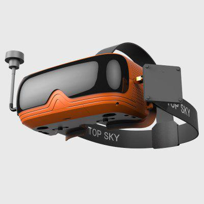 TOPSKY Prime 1S FPV Goggle 86-degree FOV 480 x 320 LCD 4:3 2.4 inch NTSC / PAL Glasses