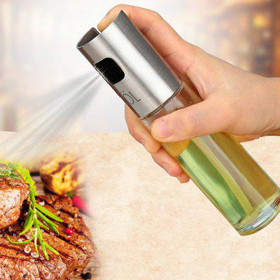 Olive Oil Stainless Steel Pump Spray Bottle
