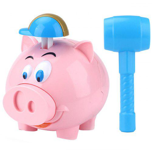 Baby Kids Toys Cartoon Animals Electric Automatic Music Money Coin Piggy Bank N
