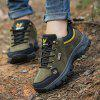 Men Leisure Comfortable Outdoor Sports Hiking Shoes - DEEP GREEN