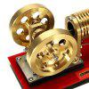 SH - 02 Flame Engine Model Educational Discovery Toy Gift for Children - GOLD