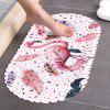 M66 Simple Bathroom Non-slip Mat - PIG PINK