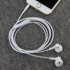 Subwoofer Universal Stereo Earphone para iPhone / Android Phone - BLANCO