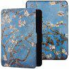 6 inch Painted Protective Case for Kindle Paperwhite 4 - MEDIUM TURQUOISE