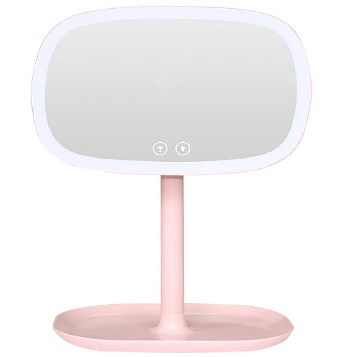 Utorch Table Lamp Makeup Mirror for Desk Decoration - Light Pink