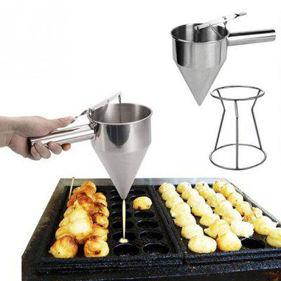 Stainless Steel Fish Ball Funnel