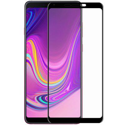 Hat-Prince Curve Full Screen Tempered Glass Screen Protector for Samsung Galaxy A9 2018 / Galaxy A9 Star Pro
