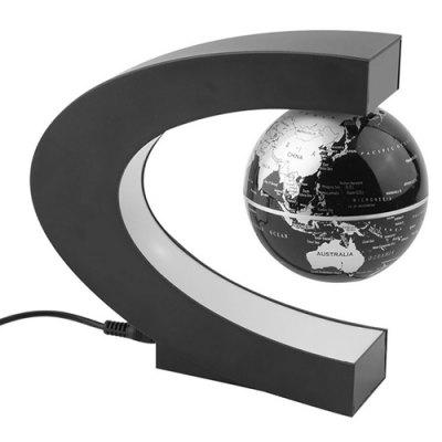 Thermal  Magnetic Suspension  C-shaped World Map