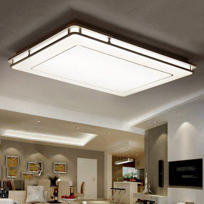 Rectangular Minimalist Smart Aluminum Led Ceiling Lamp