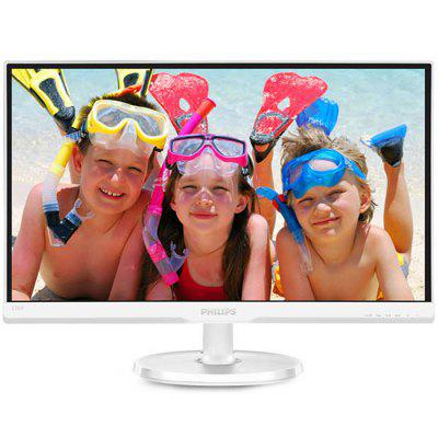 PHILIPS 236V6QSW 23-inch LCD Monitor IPS Wide Viewing Angle HD Eye Protection No Flash Computer Display