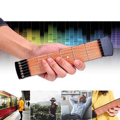Portable Finger Exerciser Pocket Guitar