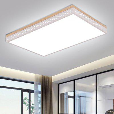 Smart Rectangular Bedroom Ceiling Lamp