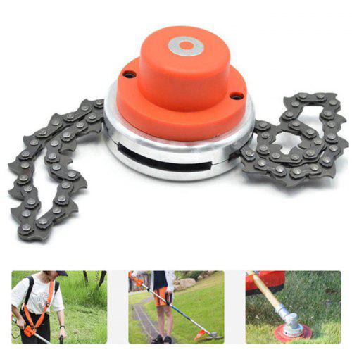 Gearbest Multi-function Durable Stainless Steel Chain Grass Lawn Mower - RED THREAD